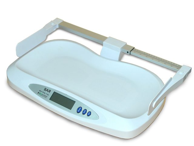 BAR baby scale