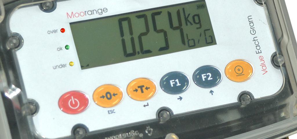 IP69K weight indicator